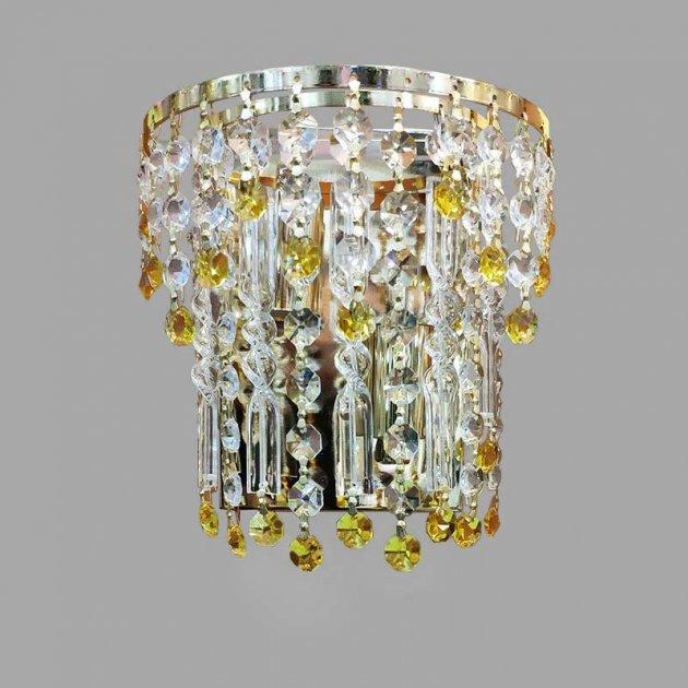 Кришталеве Бра Light House NM-14718/2W FG колір золото - зображення 1