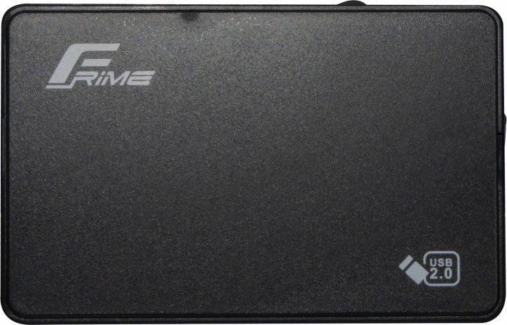 "Внешний карман Frime для HDD/SSD 2.5"" SATA USB 2.0 Black (FHE10.25U20) - изображение 1"