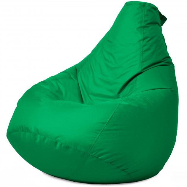 Крісло Мішок Груша Оксфорд 120х85 Студія Комфорту розмір Стандарт зелений - зображення 1