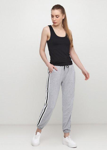Жіночі спортивні штани з лампасами 0362 Ballet Grace Сірий, XS - зображення 1