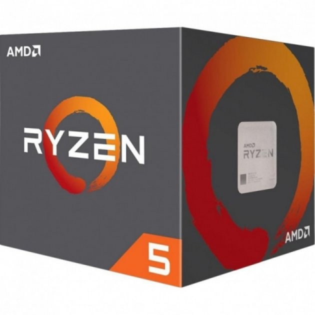 Процессор AM4 AMD Ryzen 5 2600 Box (YD2600BBAFBOX) - изображение 1