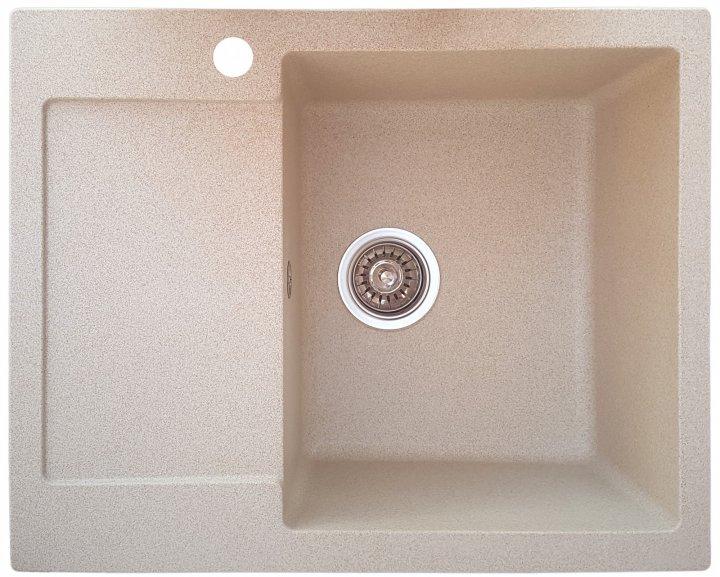 Мойка керамогранитная Valetti Classic М26 620-500, бежевая - изображение 1