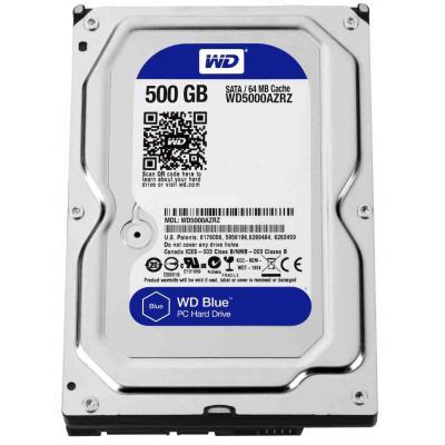 """Жесткий диск 3.5"""" 500Gb WD (WD5000AZRZ) - зображення 1"""