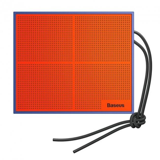 Акустична система Baseus Encok Music-Cube Wireless Speaker E05 Blue (NGE05-03) - зображення 1