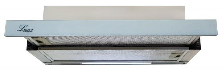 Вытяжка Luxor Concord Grey Glass 2M 1000 LED + гофротруба в комплекте Серебристый (серый), светло-серый, нержавеющая сталь - изображение 1