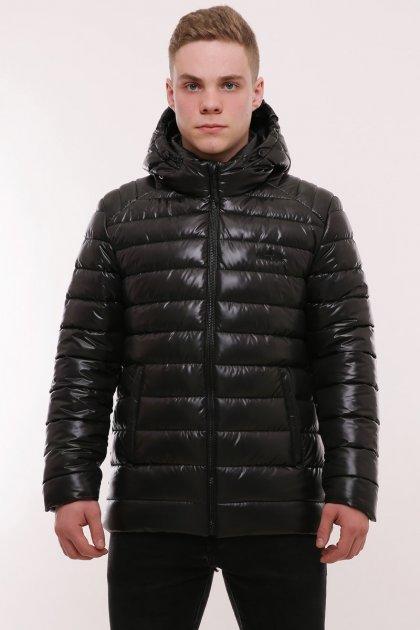Зимний мужской пуховик Fishing Style: Модель 1-01 60 Чёрный 2-01-28-60 - изображение 1