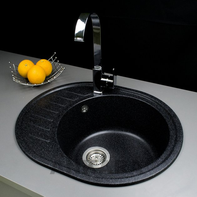Миття з штучного каменю Ankara Classic S Чорний - зображення 1