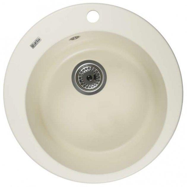 Кухонна мийка VENTOLUX Fabia Crema (2059765958154) - зображення 1