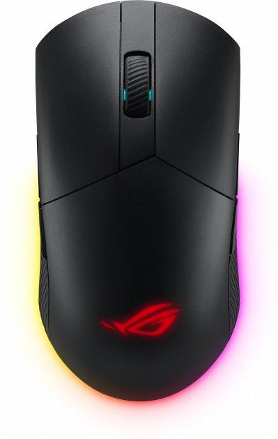 Мышь Asus ROG Pugio II Wireless/Bluetooth/USB Black (90MP01L0-BMUA00) - изображение 1