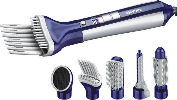 Воздушный стайлер для волос 6 в 1 Gemei GM-4834 (00595) - зображення 1