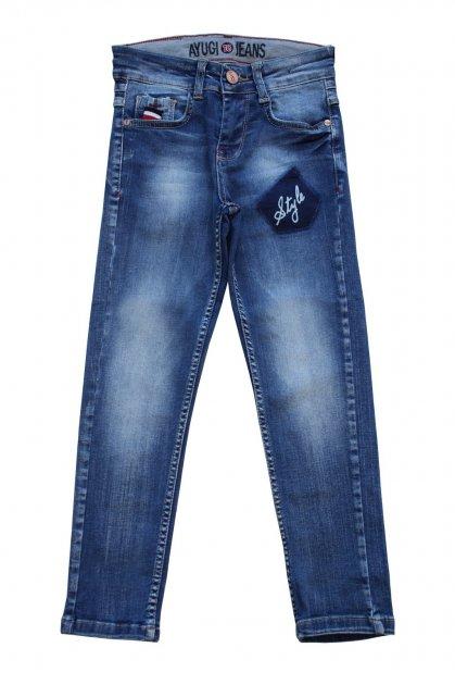 Джинсы A-yugi Jeans 104 см Синий (2125000655543) - изображение 1