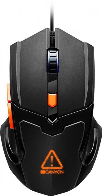 Миша Canyon Vigil USB (CND-SGM02RGB) - зображення 1