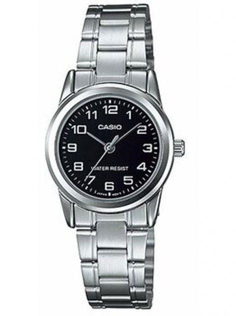 Жіночі наручні годинники Casio LTP-V001D-1BUDF - зображення 1