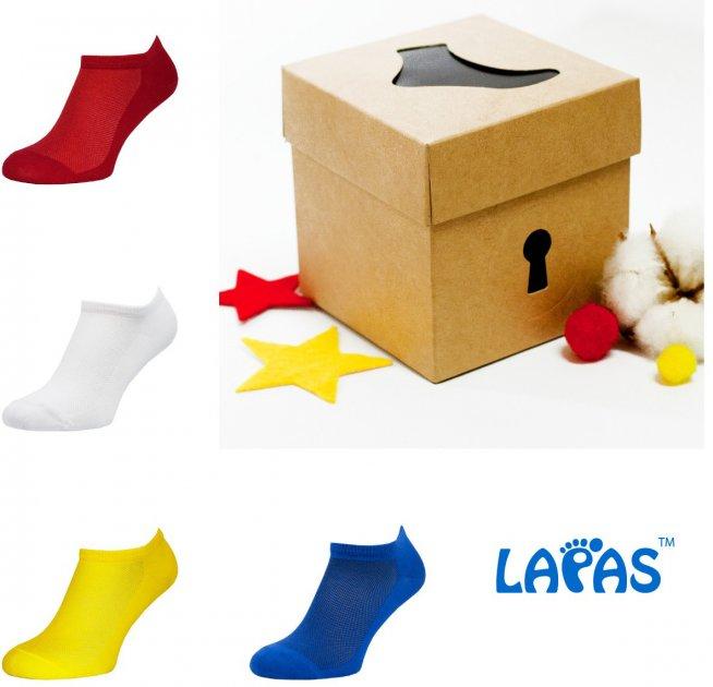 Набор носков Lapas 4P-222-223 41-43 (4 пары) Разноцветный (4820234211401) - изображение 1
