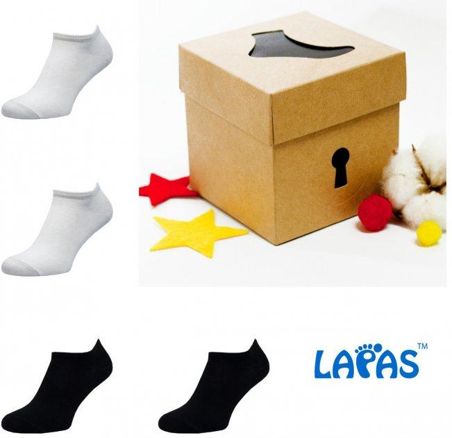 Набор носков Lapas 4P-220-222 41-43 (4 пары) Разноцветный (4820234204168) - изображение 1