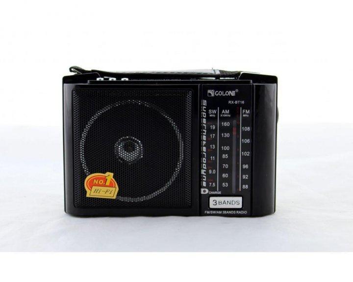 Радіоприймач з блютузом Golon RX-16BT (USB+SD) / 15BT - зображення 1