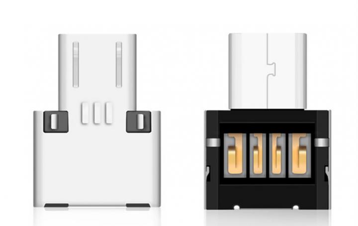 Перехідник з OTG Type C USB 3.0 метал - зображення 1