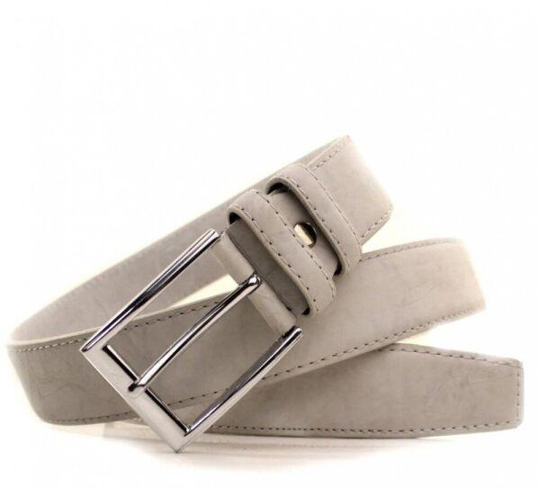 Кожаный мужской ремень Lazar l3511w20 125 см. - изображение 1