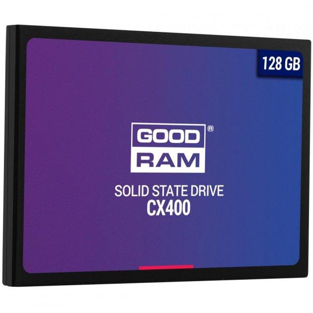 """Накопичувач SSD 2.5"""" 128GB GOODRAM (SSDPR-CX400-128) - зображення 1"""