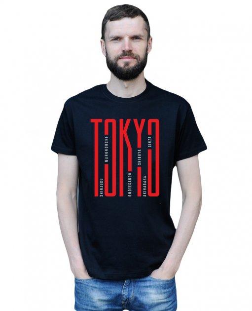 Футболка Tokio чорна Standart M Vudvud - изображение 1