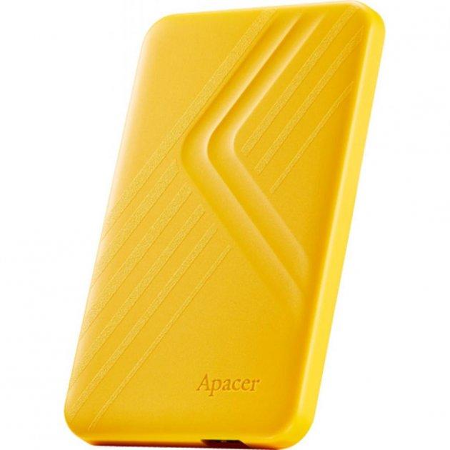 """Жорстку зовнішній диск USB Apacer 3.2 Gen1 AC236 1TB 2,5"""" Жовтий (AP1TBAC236Y-1) - зображення 1"""