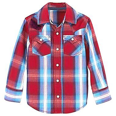 Рубашка Arizona Jean Co Красный (4Y/104) (237) - изображение 1