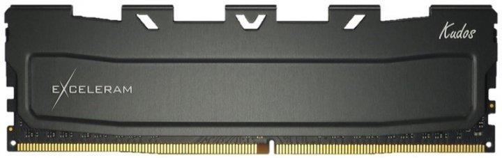 Оперативна пам'ять Exceleram DDR4-3200 8192MB PC4-25600 Black Kudos (EKBLACK4083216A) - зображення 1