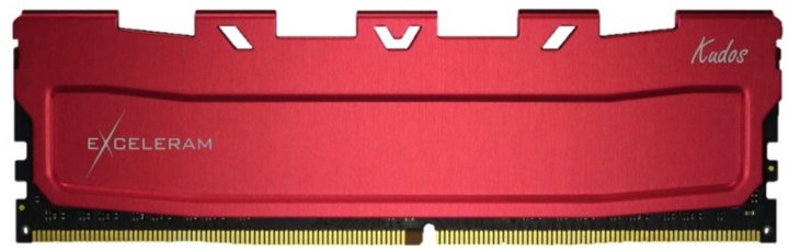 Оперативна пам'ять Exceleram DDR4-3600 8192MB PC4-28800 Red Kudos (EKRED4083618A) - зображення 1