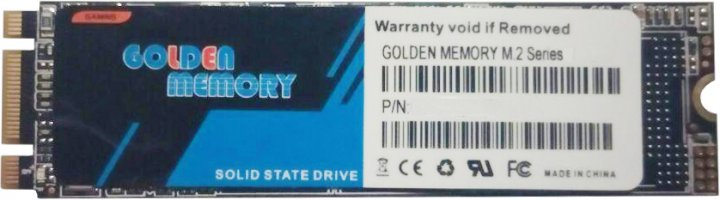 Golden Memory 128GB M.2 2280 SATAIII TLC (GM2280128G) - изображение 1