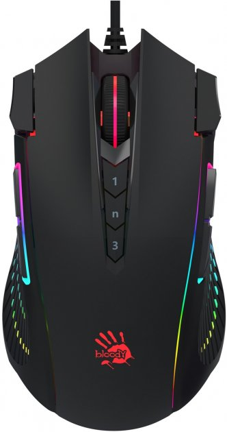 Миша Bloody J90s USB Black (4711421949040) - зображення 1