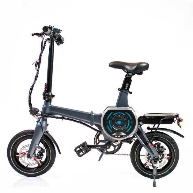 Електровелосипед Zhengbu D8 Matt Series Gray - зображення 1