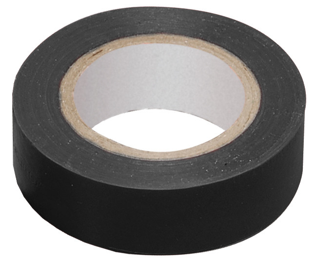 Ізолента 0,13х15 мм чорна 20 метрів IEK (UIZ-13-10-K02) - зображення 1
