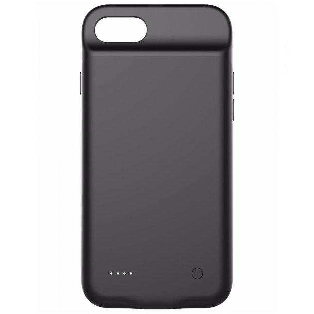 Чехол аккумулятор AmaCase для iPhone 7 Plus Black (4000 мАч) - изображение 1