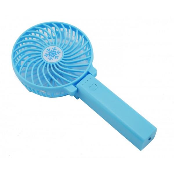 Ручний портативний вентилятор UTM Блакитний - зображення 1