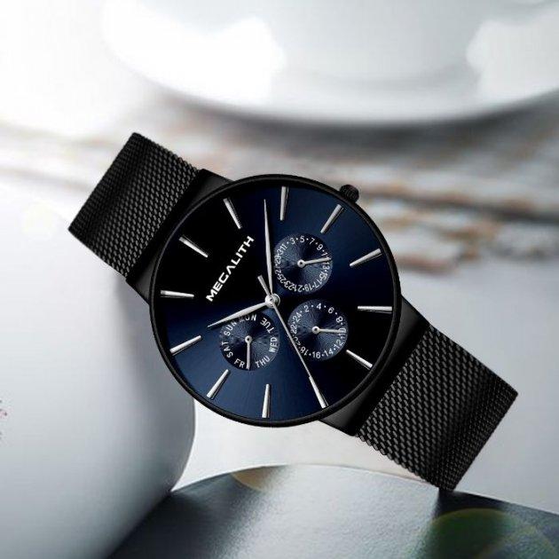 Стильные Мужские наручные часы MegaLith Boss Limited - изображение 1