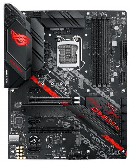 Материнська плата Asus ROG Strix B460-H Gaming (s1200, Intel B460, PCI-Ex16) - зображення 1