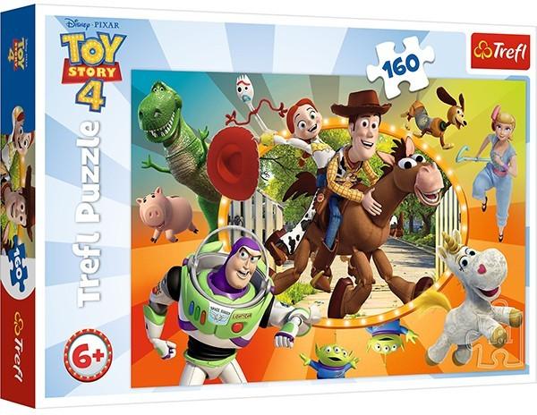 Пазли Trefl Історія іграшок-4. У світі іграшок. Disney Toy Story-4, 160 елементів (15367) - зображення 1