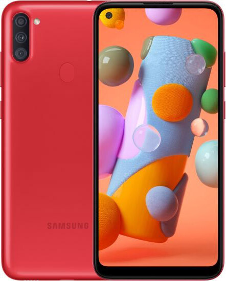 Мобільний телефон Samsung Galaxy A11 2/32GB Red (SM-A115FZRNSEK) - зображення 1