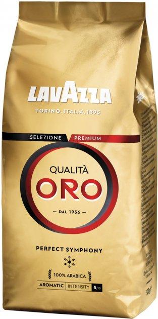 Кофе в зернах Lavazza Qualita Oro 500 г (8000070019362) - изображение 1