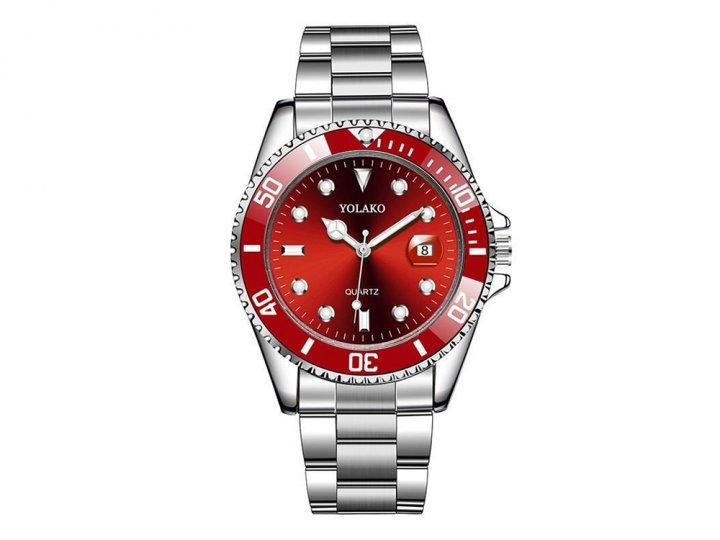 Часы Yolako Кварцевые мужские Красный (1007-062-03) - изображение 1