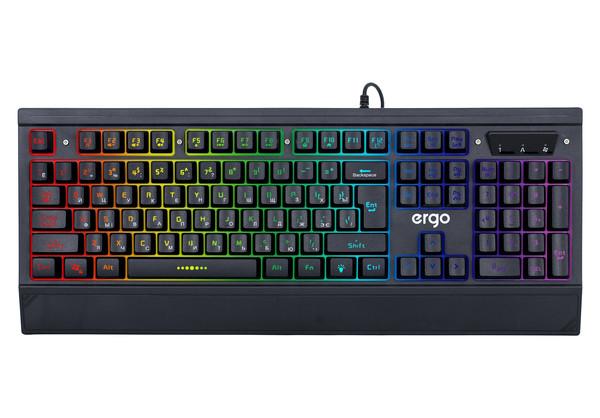 Ігрова клавіатура провідна ERGO KB-640 - зображення 1
