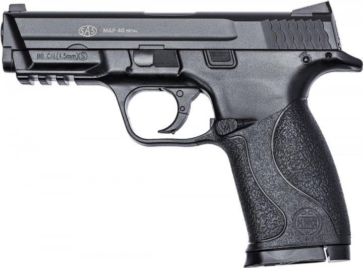 Пневматический пистолет SAS S&W MP-40 (пластик) - изображение 1