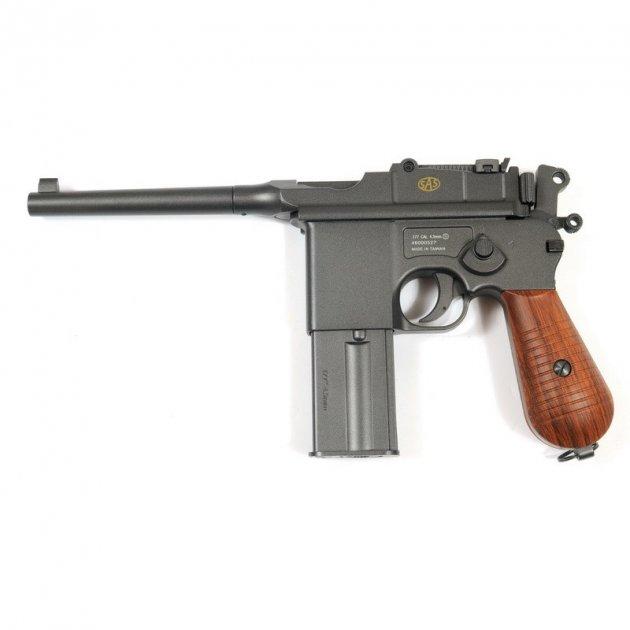 Пневматичний пістолет SAS Mauser M712 Blowback - зображення 1