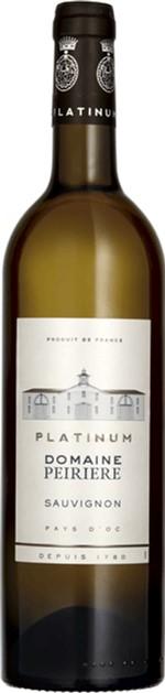 Вино Domaine Peiriere Sauvignon Platinum белое сухое 12% 0.75 л (3552657012709) - изображение 1