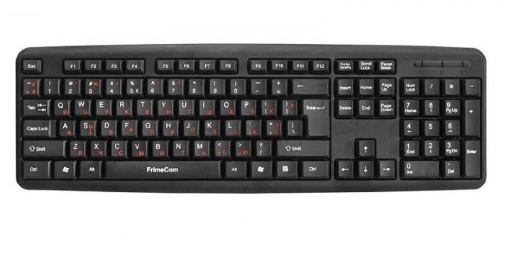 Клавіатура FrimeCom FC-502-USB Black - зображення 1