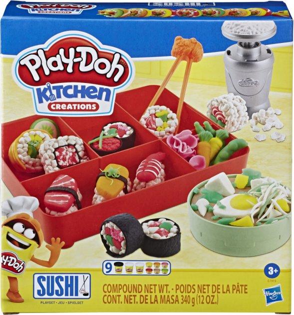 Игровой набор Play-Doh Суши (E7915) (5010993635900) - изображение 1