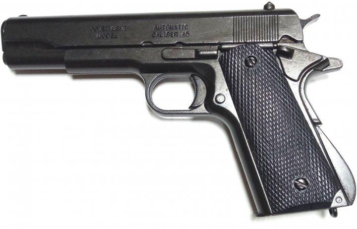 Макет кольта-45 США 1911 год, Denix (01/1316) - изображение 1
