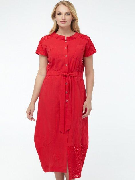 Платье All Posa Дарья 100117 52 Красное - изображение 1