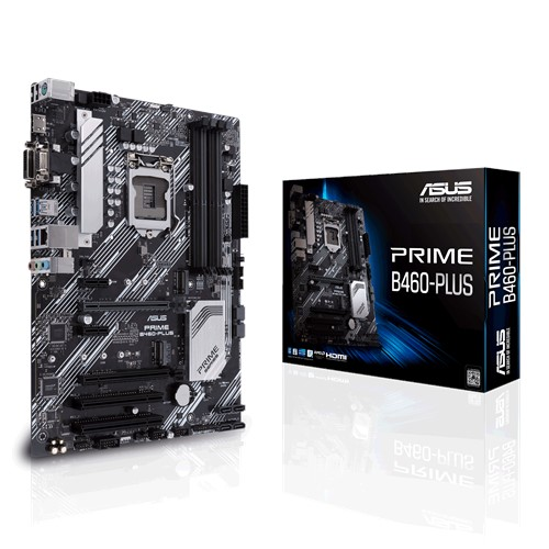 Материнська плата Asus Prime B460-Plus Socket 1200 - зображення 1