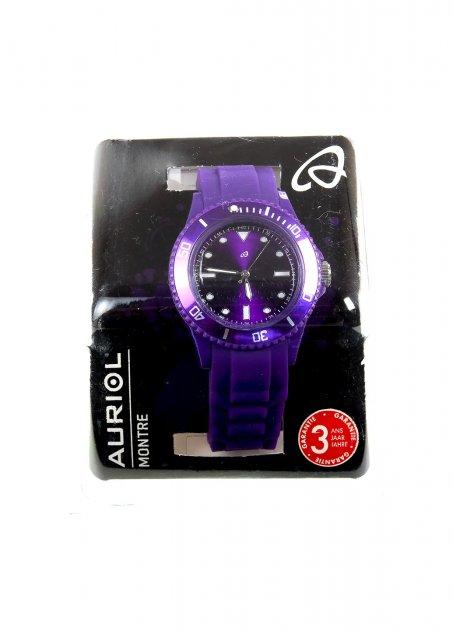 Наручные часы AURIOL фиолетовый-серебристый K10-550424 - изображение 1
